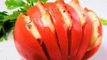 ハッセルバックトマト