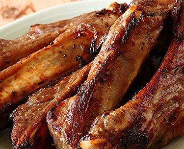 豚スペアリブとキーウィの甘辛煮