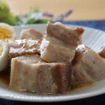 【ソレダメ】電子レンジで豚の角煮の作り方。甘酒を使った簡単絶品レシピ!(8月21日放送)