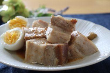 電子レンジで豚の角煮