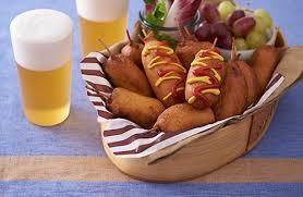 HMと魚肉ソーセージでお手軽アメリカンドック