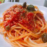 【たべごころ】コウケンテツさん青春の味プッタネスカの作り方。グリーンオリーブとトマト缶の相性が抜群のレシピ(11月2日放送)