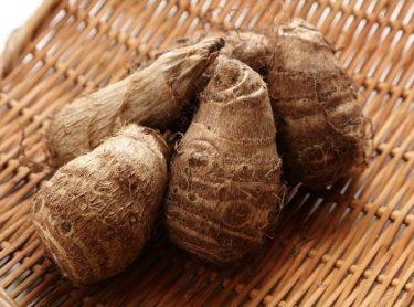 里芋と豚ひき肉の豆豉炒め